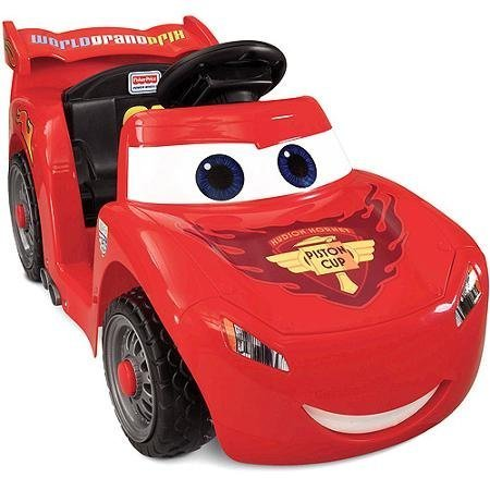 Fisher-Price Lightning McQueen Ride On Car