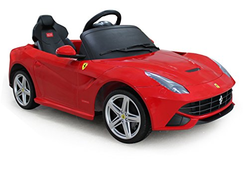 ferrari f12 rastar 12v battery operatedremote controlled ride on