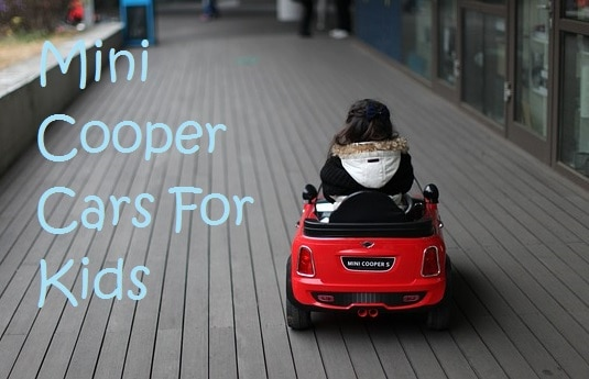 Mini Cooper Toddler Car