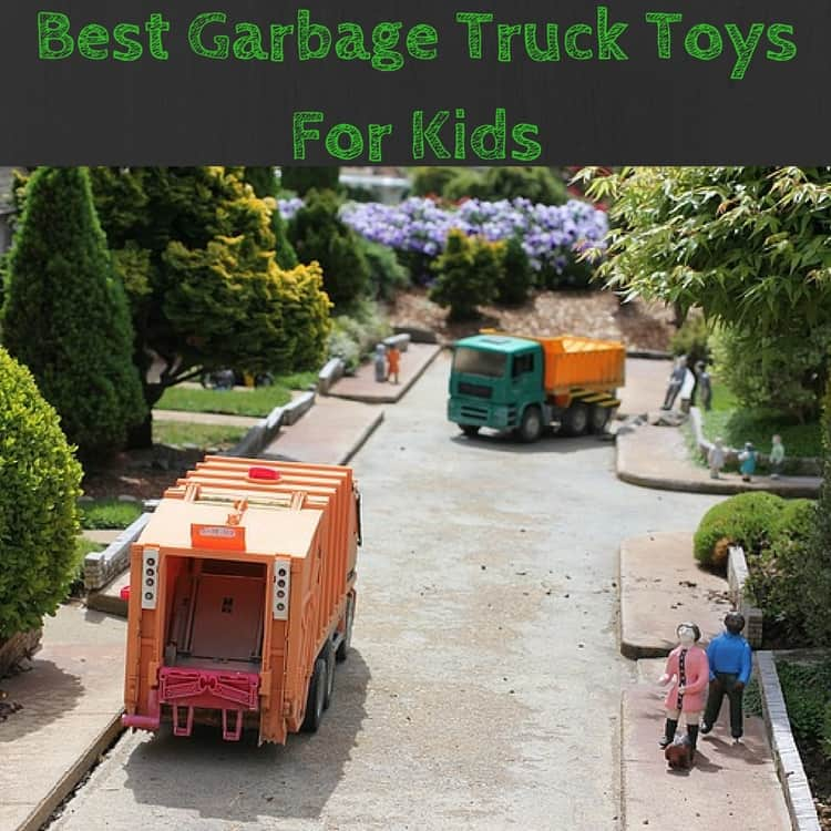 Best Garbage Truck Toys for Kids