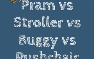 Difference Between a Pram, Pushchair, Buggy, and a Stroller?